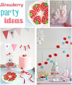 Strawberry Party - Cute Ideas:)