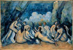 Paul Cezanne - The Bathers 1894-1905