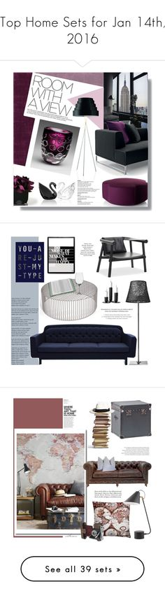 """""""Top Home Sets for Jan 14th, 2016"""" by polyvore ❤ liked on Polyvore featuring interior, interiors, interior design, home, home decor, interior decorating, Cyan Design, B&B Italia, ALDO and Hervé Gambs"""