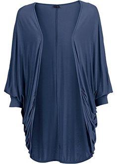 Body Flirt Damen Shirtjacke blau Gr.S