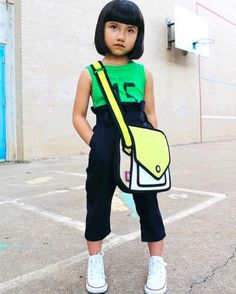 Kids Jump from Paper Giggle Junior Shoulder Bag - yellow on Garmentory 2d Bags, Jump From Paper, Vans Shoes Fashion, Cartoon Bag, Cool Style, My Style, Everyday Bag, Cosplay, Kids Fashion
