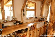 Beautiful, simple and practical kitchens in natural homes around the world.
