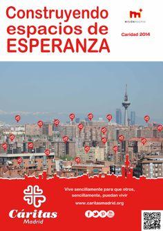 Cartel Campaña de Caridad 2014: Construyendo espacios de ESPERANZA.