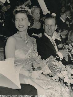 Queen Elizabeth II and the Duke of Edinburgh at the film premiere of 'Dunkirk' at the Empire Theatre [photo bh Roman Hanson] Elizabeth Queen Of England, Elizabeth Philip, Princess Elizabeth, Princess Margaret, Queen Elizabeth Ii, Royal Queen, Queen Mary, Prinz Philip, Queen