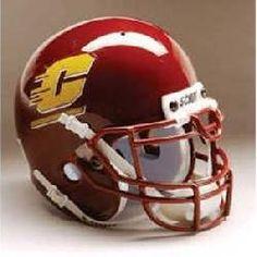 Central Michigan Chippewas NCAA Replica Full Size Helmet