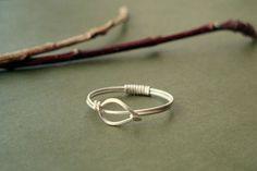 Simple Sterling Silver Leaf Ring