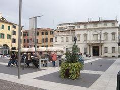 Piazza Cavour e Galleria civica di Padova