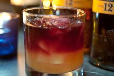 Try A Great Scotch in a Fantastic UK Sour Cocktail: The red wine float is the perfect finishing touch to this impressive UK Sour Scotch cocktail.