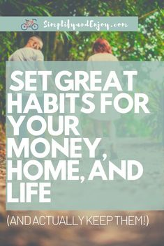 Most of us have our hands full. Too many times, our finances, health, and homes don't get the attention they deserve.  We'll dive in with how you can reset your habits and simplify finances, home, and life so that you can have some big wins this year! #habits #goals Ways To Save Money, Money Tips, Money Saving Tips, Budgeting Worksheets, Budgeting Tips, Good Marriage, Marriage Tips, Managing Your Money, Financial Goals