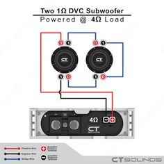 39 best Subwoofer Wiring Diagram images on Pinterest in 2018