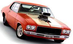 ◆ Visit MACHINE Shop Café... ◆ ~ Aussie Custom Cars & Bikes ~ (1972 HQ Holden Monaro GTS)