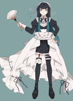 Maid Outfit Anime, Anime Maid, Haikyuu Karasuno, Haikyuu Yaoi, Demon Slayer, Slayer Anime, Anime Angel, Anime Demon, Anime Boys