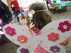 A Very Fairy Flower party: perfect for girly school age programming!