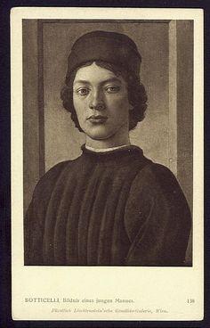 Vintage Postcard 1913 Antique Postcard Portrait of a Man