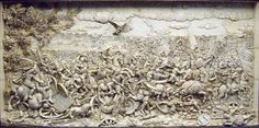 Greek Kingdom of Macedonia - Battle of Gaugamela - Anonymous artist - Relief inspired by a Charles Le Brun's painting on the same subject. Ap World History, Ancient History, Battle Of Gaugamela, Charismatic Leadership, Classical Greece, Image Resources, Achaemenid, Early Middle Ages, Valley Of The Kings