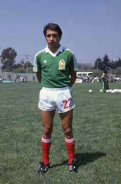 Manuel Negrete 1986 Best Goal in A World Cup Zenaido 🇲🇽 Pumas, Mexico Soccer, Football Images, Fifa, Vintage Football, World Cup, White Shorts, Chelsea, Champion