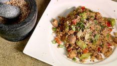 riz frit Solution Gourmande, Fried Rice, Grains, Vitamins, Favorite Recipes, Pasta, Ethnic Recipes, Food, Couple