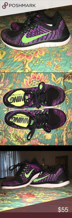 Nike Flyknit Free Run. Women's size 7. Nike flyknit free run. Women's size 7. Only worn maybe 3 times. Perfect Condition. Extremely comfortable. Nike Shoes Athletic Shoes