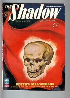 Skull cvr. The Shadow knows!