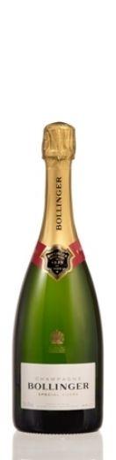 #champagne As uvas garantem a qualidade e consistência do vinho.Mais de 60% das uvas seleccionadas para o special cuvée provêm de vinhas próprias e são geridas pela Bollinger. Esta percentagem representa uma proporção absolutamente excepcional para a região de champagne. o lote inclui aproximadamente trinta crus individuais, 80% dos quais provêm de grands e premiers crus, todos localizados na montagne de reims e côte des blancs.