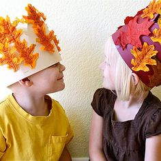 Super Cute Thanksgiving Hat Crafts: Harvest Crown (via Parents.com)