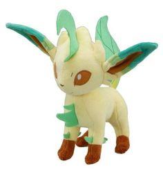 Pokemon Plush Leafeon Doll Around 24cm 9.5: Toys & Games