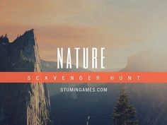 Get outdoors with our Nature Scavenger Hunt! Scavenger Hunt List, Nature Scavenger Hunts, Summer Fun List, Summer Bucket Lists, Importance Of Communication, Pumpkin Games, Outdoor Dates, Youth Group Games, Architecture Quotes