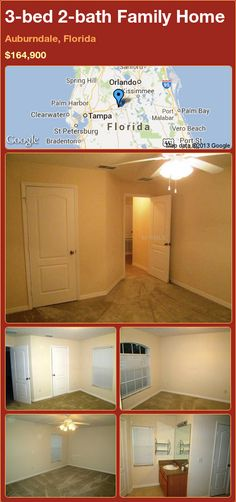 3-bed 2-bath Family Home in Auburndale, Florida ►$164,900 #PropertyForSale #RealEstate #Florida http://florida-magic.com/properties/75621-family-home-for-sale-in-auburndale-florida-with-3-bedroom-2-bathroom