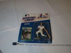 1989 JOSE CANSECO Starting Lineup Oakland A's 33 Athletics MLB NOS Kenner card  #Athletics #Kenner