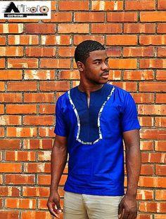African mens shirt : £45