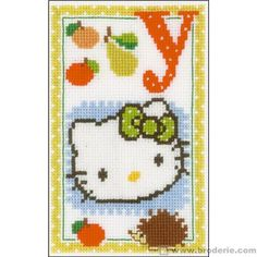 Hello kitty lettre y