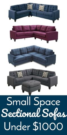 Small Space Sectiona