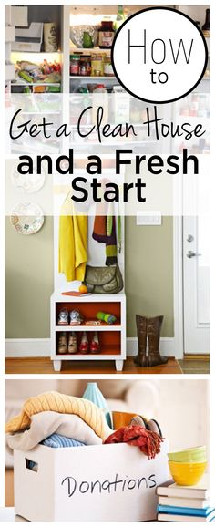 How to Get a Clean House and a Fresh Start