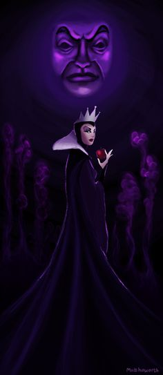 THE WICKED QUEEN - Snow White and the Seven Dwarf's,1937
