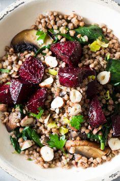 buckwheat beetroot salad macro