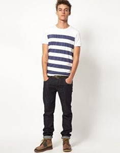 Enlarge ASOS Stripe T-Shirt With Crew Neck