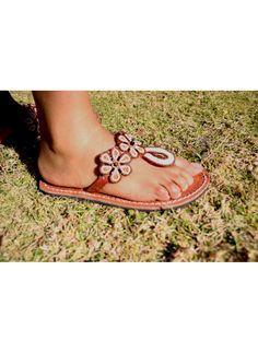 Pink African Beaded Sandals Beaded Sandals, African Beads, Miller Sandal, Tory Burch, Summer, Pink, Shoes, Fashion, Moda