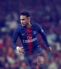 Staying true to tradition, Paris Saint-Germain's new home kit bristles with the historic red and blue cherished by the club's fans. Football Icon, Best Football Players, World Football, Lionel Messi, Champions League, French League, Fifa, Real Madrid, Cristiano Ronaldo Portugal