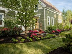 landscaping ideas for front yard in new england