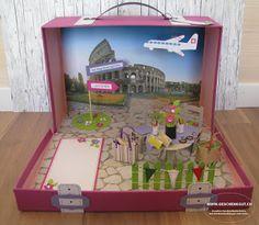Ferien in Rom Reisekoffer Koffer Feriengutschein Reisegutschein Städtereise