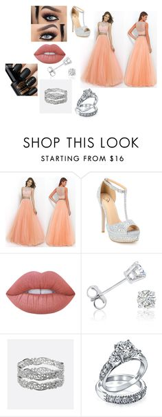 """""""Sin título #694"""" by esteffa on Polyvore featuring Lime Crime, Amanda Rose Collection, Avenue y Bling Jewelry"""