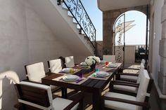 Exclusive Private Villa, 5 Bedroom Villa in Drasnice Makarska Croatia, Luxury Villa Rentals, Rental Property, Luxury Travel, Dining Table, Bedroom, Dream Houses, Villas, Furniture