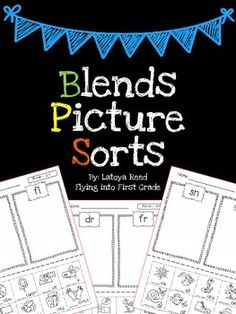 BlendsHere are 9 pages of sorts with beginning blends Enjoy!!!Check Out My Short Vowel Sorts Freebie here