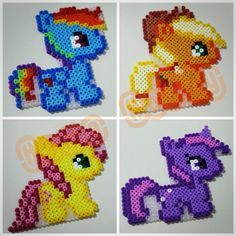 My Little Pony hama perler beads by Love Cupcoonka - www.facebook.com/hamabeadshobby