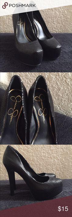 Jessica Simpson Black Heels size 6.5 Jessica Simpson Black Heels size 6.5 Jessica Simpson Shoes Heels