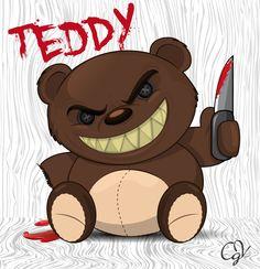osito #teddy #vector #Halloween