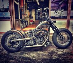 Tumblr is a place to express yourself, discover yourself, and bond over the stuff you love. It's where your interests connect you with your people. Harley Bobber, Harley Davidson Chopper, Harley Davidson Motorcycles, Ducati, Sportster 48, Custom Choppers, Triumph, Kustom, Motorbikes