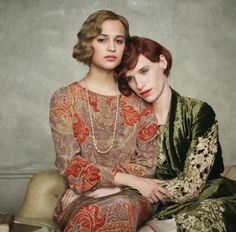 The Danish Girl promotional photo