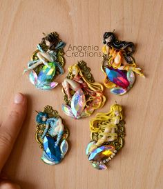 Sailor moon evolutions by AngeniaC on DeviantArt Polymer Clay Figures, Polymer Clay Charms, Polymer Clay Art, Toy Art, Biscuit, Chibi, Sailor Mercury, Cute Clay, Sailor Moon Crystal