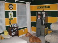 Packers room    here you go wanda anderson